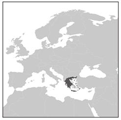 ギリシャの場所